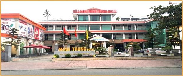 Toàn cảnh khách sạn Hữu Nghị Minh Trung
