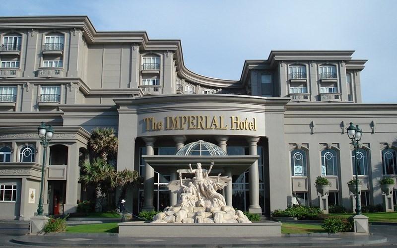 Khách sạn Imperial với lối trang trí của thời kỳ Victoria