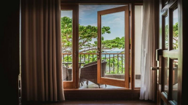 View nhìn ra ở Khách Sạn Jazz