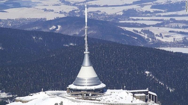 Khách sạn Jested - Cộng hòa Czech