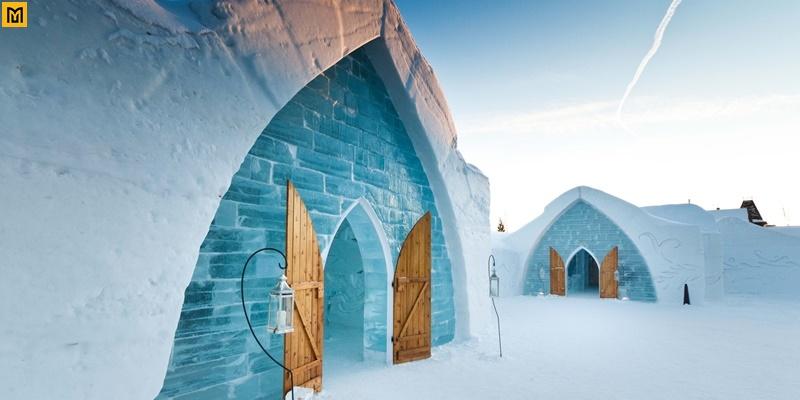 Khách sạn làm từ băng