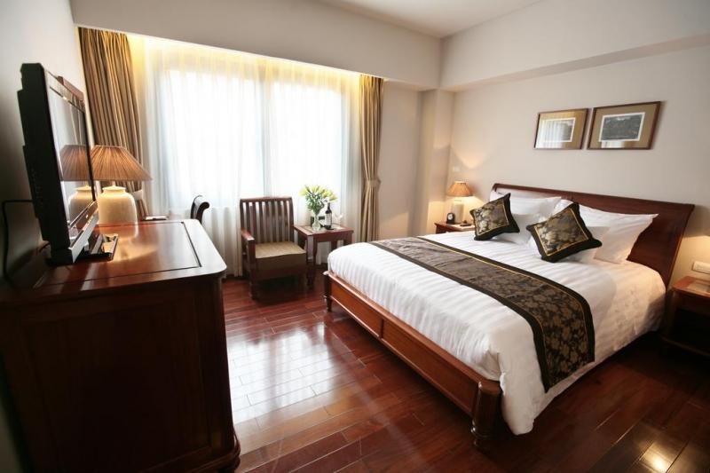 Phòng nghỉ của khách sạn Lan Viên Hà Nội