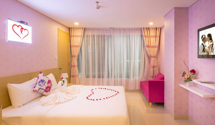 Room at the Love Hotel