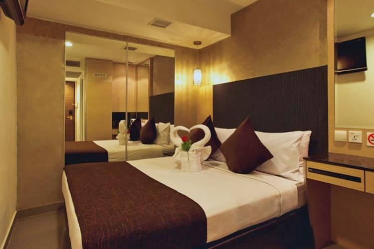 Các phòng khách sạn đều sạch sẽ, không gian ấm áp