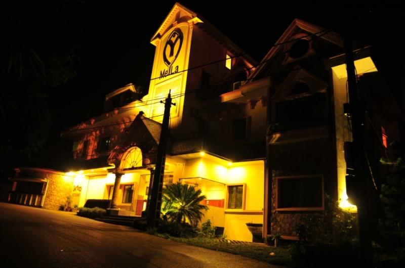 Khách sạn Mela Tam Đảo về đêm
