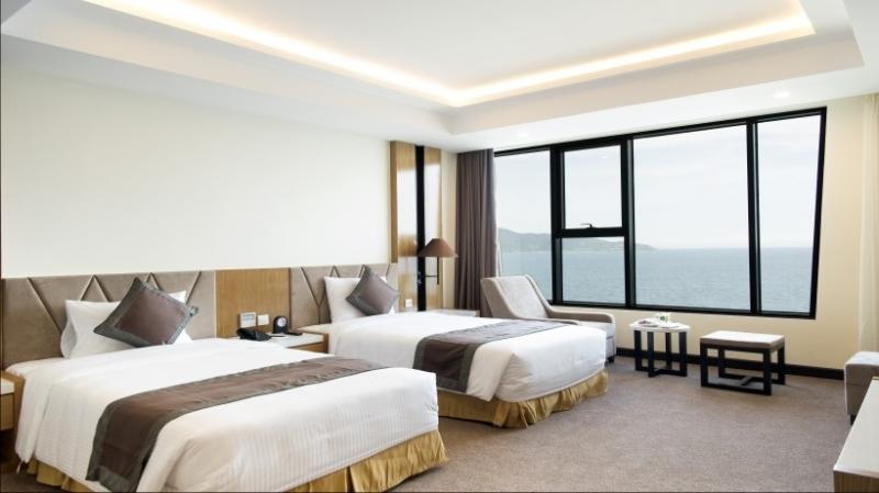 Phòng ngủ ở Mường Thanh Luxury Đà Nẵng