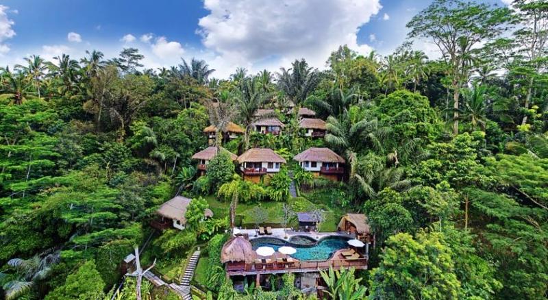 Khu Ubud khiến cho người ta mê mệt bởi cảnh sắc thiên nhiên