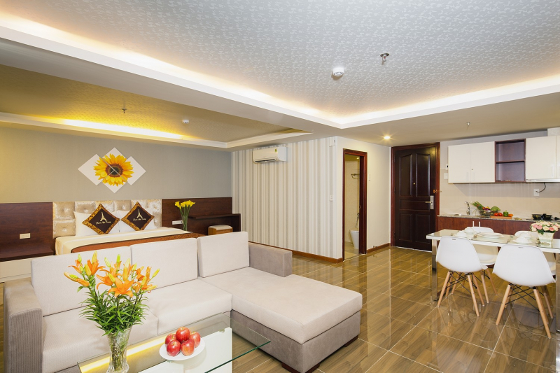 Paris Nha Trang Hotel with private kitchen