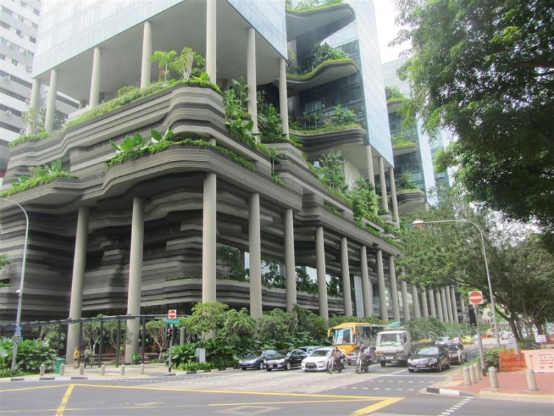Một góc của Khách sạn Parkroyal