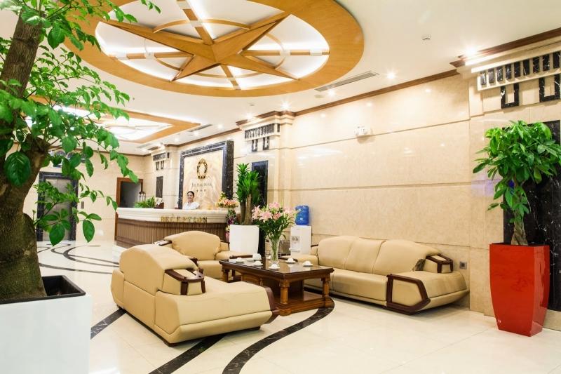 Sảnh khách sạn Pearl Hà Nội