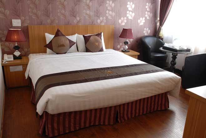 Phòng được trang bị đầy đủ tiện nghi hiện đại.
