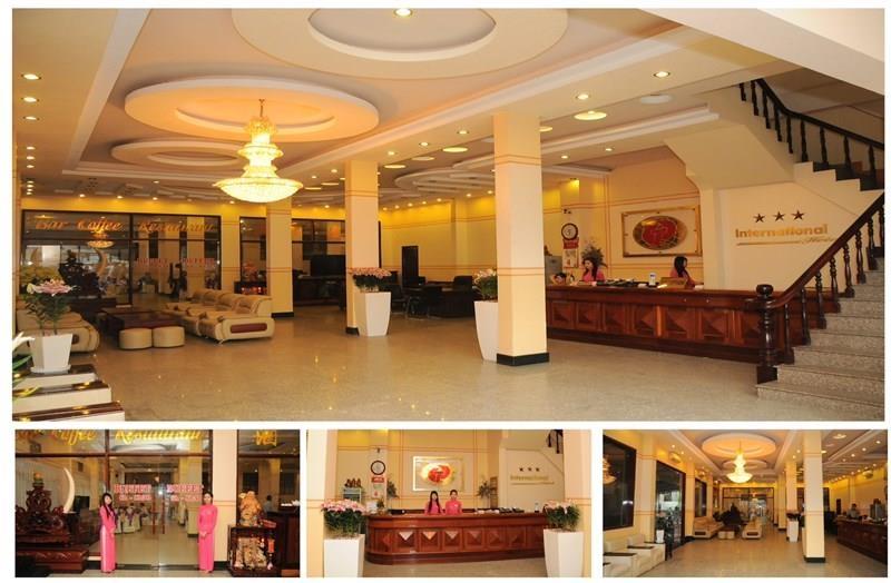 Không gian bên trong của khách sạn Quốc tế