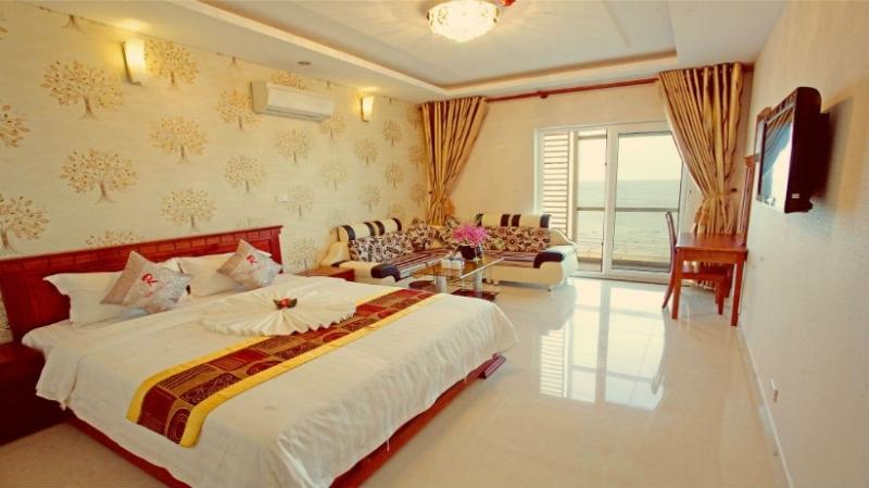 Phòng ngủ tiện nghi tại khách sạn