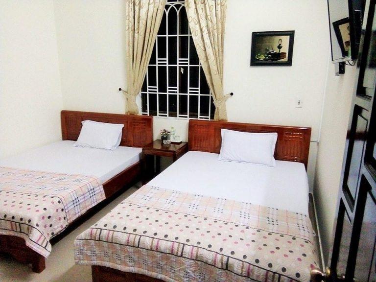 Phòng ngủ của khách sạn Rubis