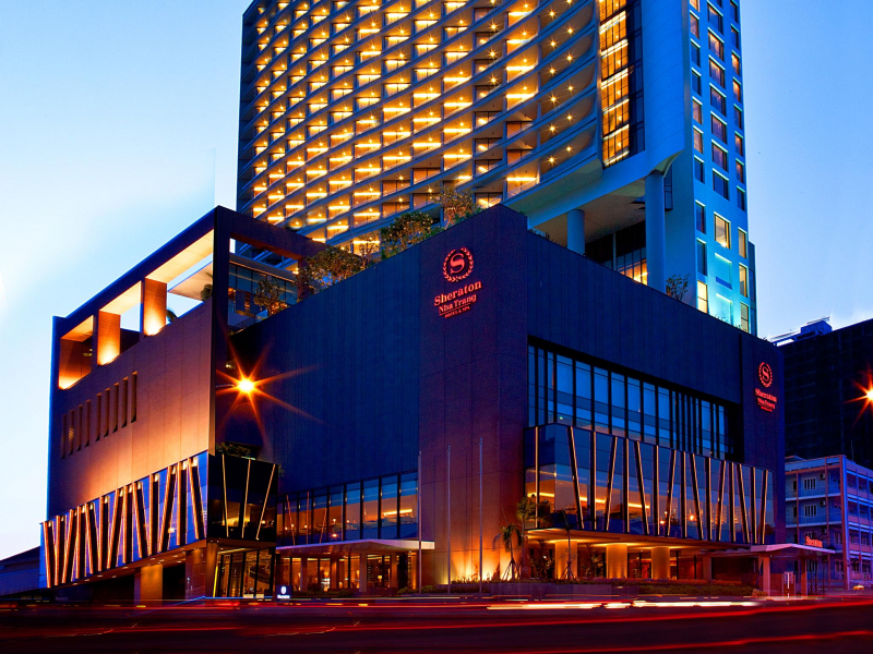 Sheraton Nha Trang Hotel is located on Tran Phu Street