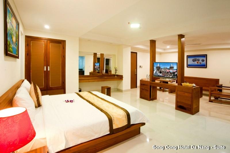 Phòng Suite tại khách Sạn Sông Công