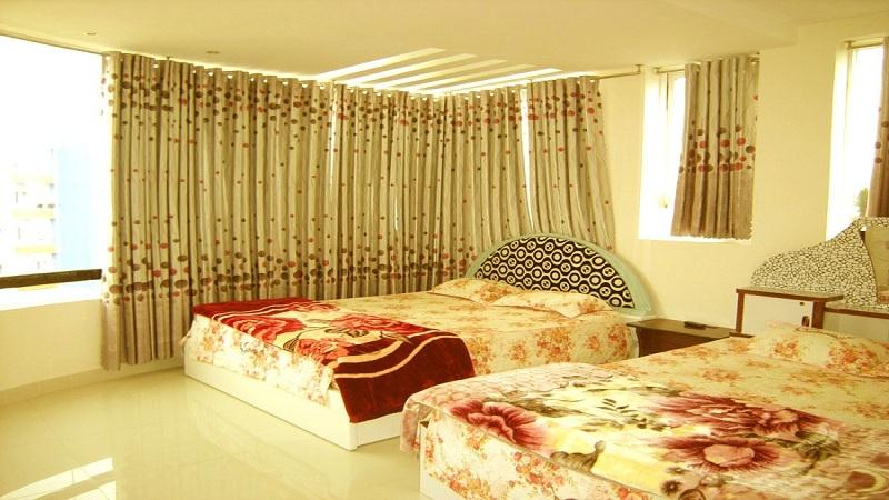 Một phòng đối tại khách sạn Sunny Đà Lạt