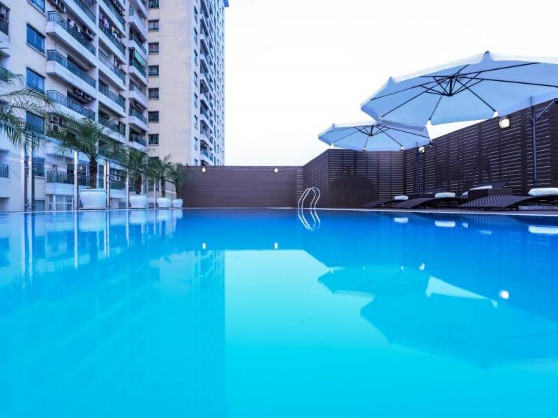 Hồ bơi của khách Sạn The Ann Hà Nội