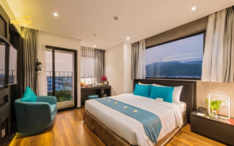 Phòng khách sạn The Code Hotel & Spa Đà Nẵng
