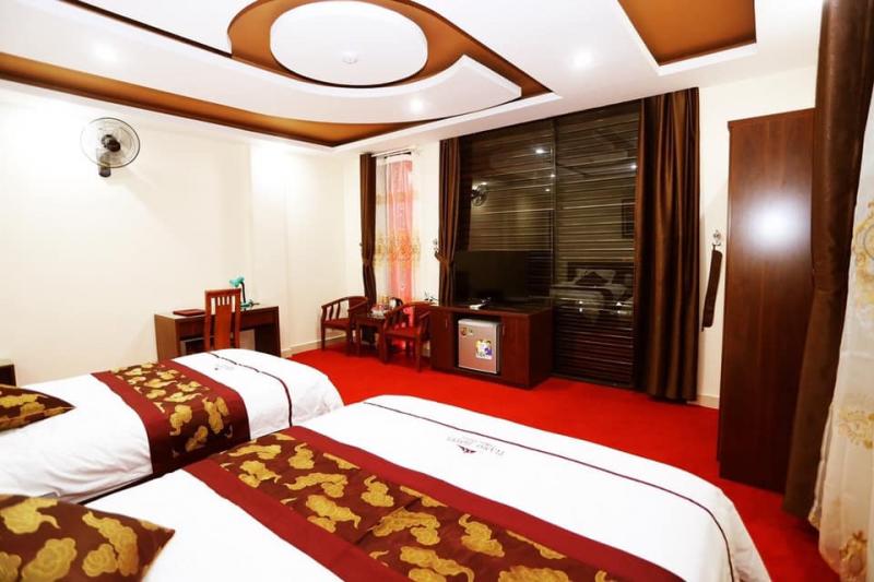 Khung cảnh tại Khách sạn TiAmo Hà Giang