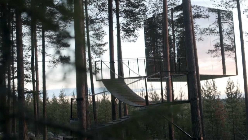 Khách sạn trên cây, Harads, Thụy Điển