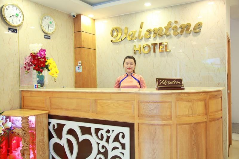 Khách sạn Valentine tọa lạc ở vị trí đẹp của Phước Mỹ