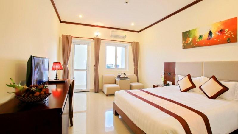 Phòng tại khách sạn Ven Sông Bàn Thạch