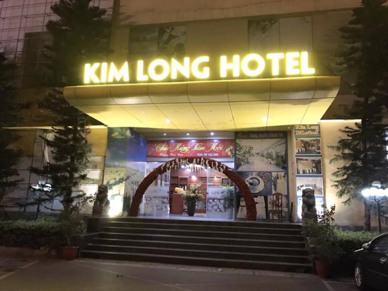 Mặt trước của Kim Long Hotel