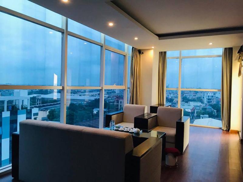 View từ phòng khách sạn Kim Long