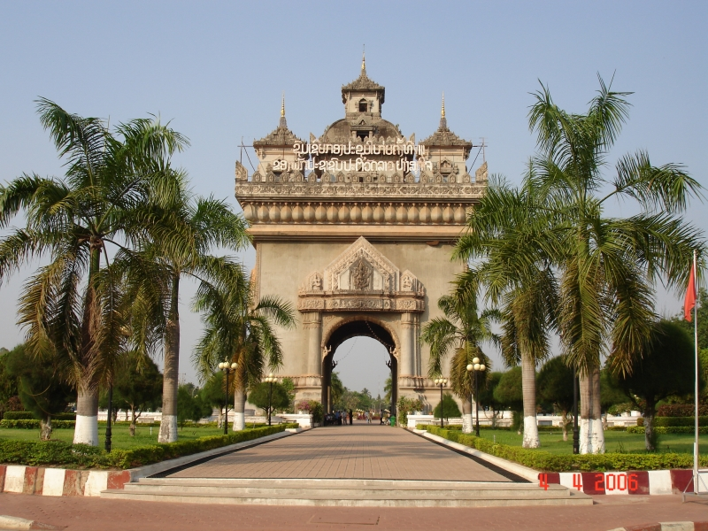 Khải Hoàn Môn Patuxay Gate
