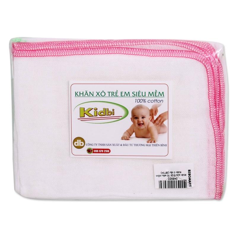 Khăn dùng để lau cho bé