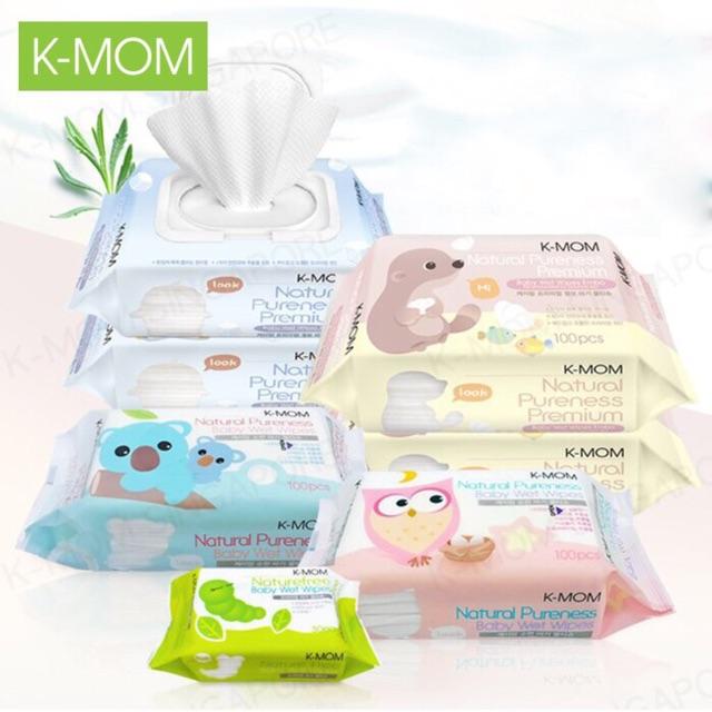 Khăn giấy ướt K-mom