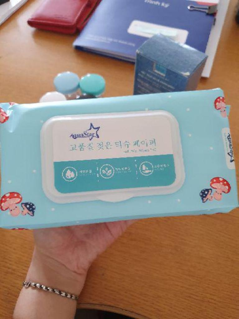 Khăn Ướt Organic Trẻ Em AquaStar StayDry