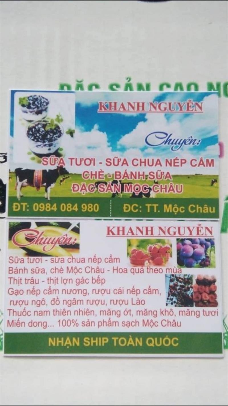 Tất cả các loại đặc sản bên Khanh Nguyễn đều cung cấp