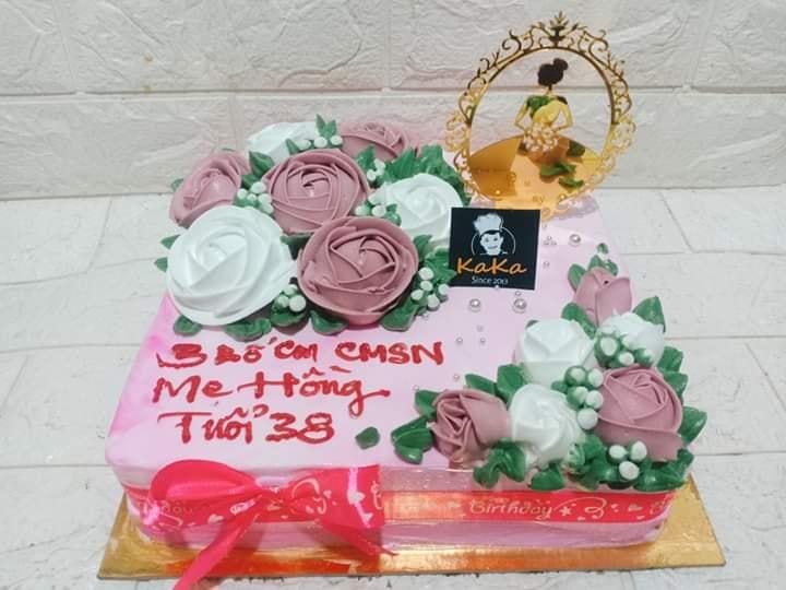 Bánh sinh nhật của Khánh Pháp Bakery rất được lòng khách hàng