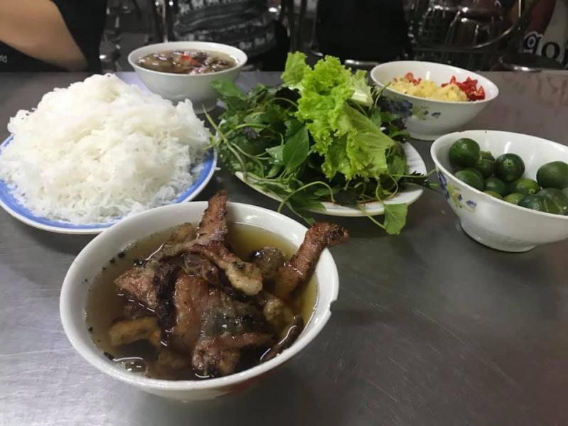 Bún chả Khánh Vân