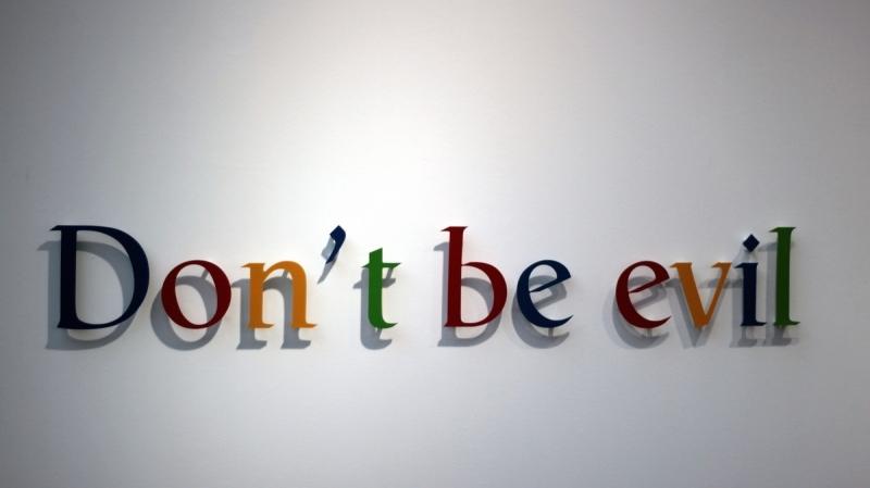 Khẩu hiệu của Google: