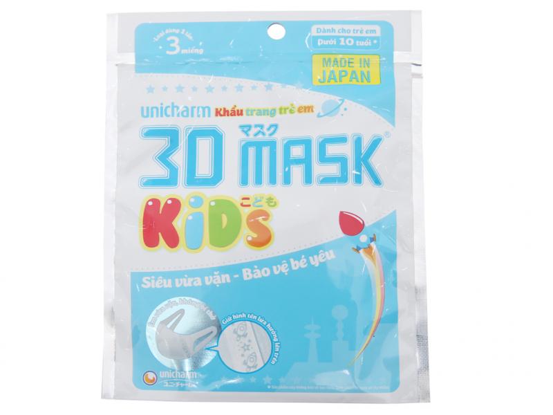 Khẩu trang trẻ em Unicharm 3D Mask