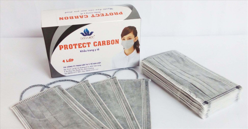 Khẩu trang PROTECT CARBON (KT Than Carbon)