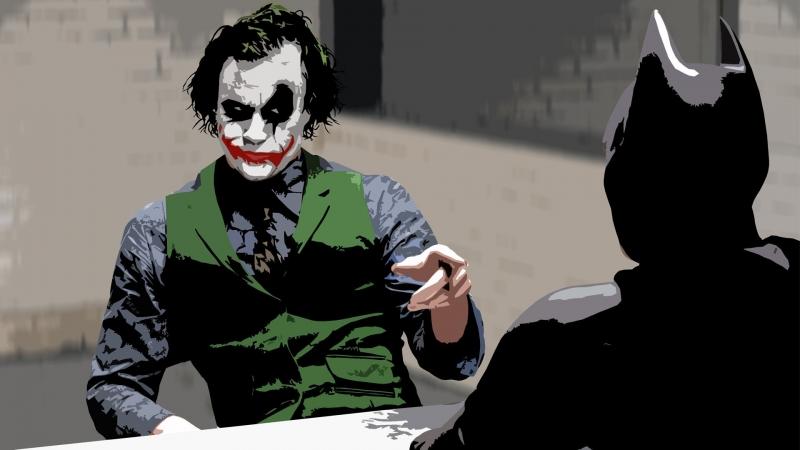 Cuộc nói chuyện giữa Joker và Batman, hai con người có bộ óc tuyệt vời!