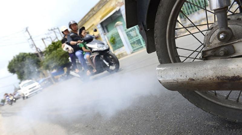 Lượng khí thải từ các phương tiện giao thông ngày một gia tăng