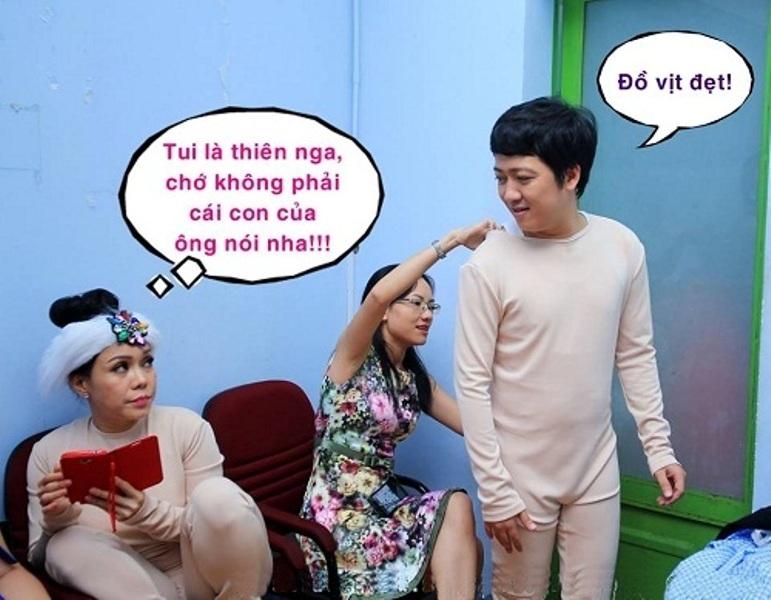 Khi Trường Giang chê vẻ đẹp của Việt Hương