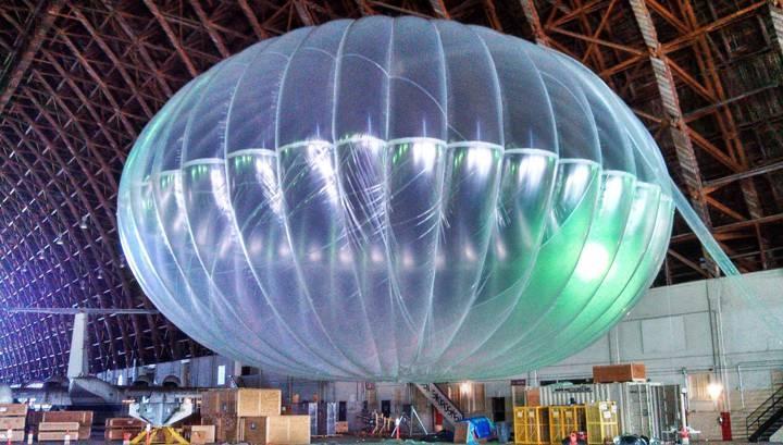 Khinh khí cầu Google giúp kết nối Internet