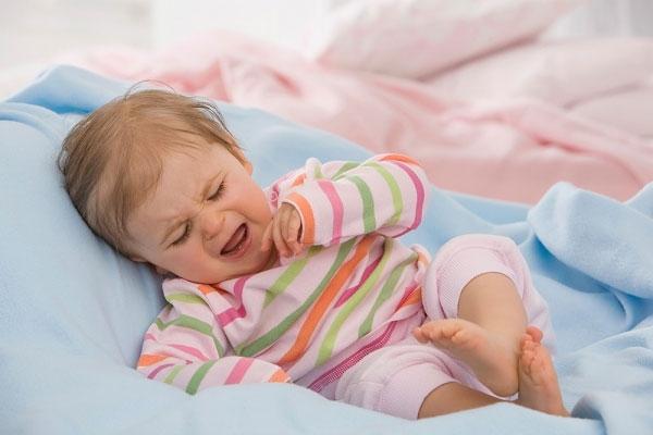 Trẻ khó ngủ hoặc ngủ không ngon giấc
