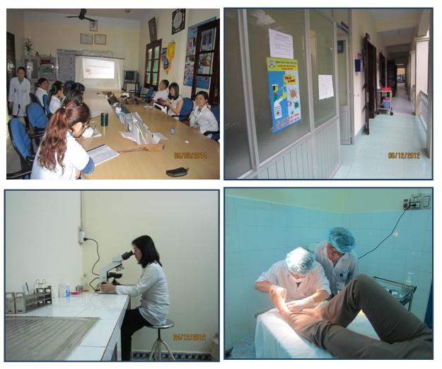 Khoa da liễu - Bệnh viện Trung ương Huế
