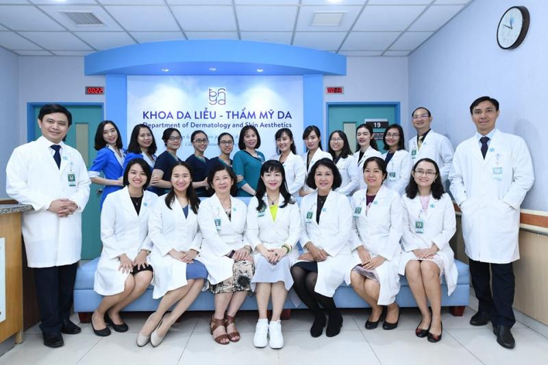 Khoa Da liễu – Thẩm mỹ, Bệnh viện Đại học Y dược TP HCM