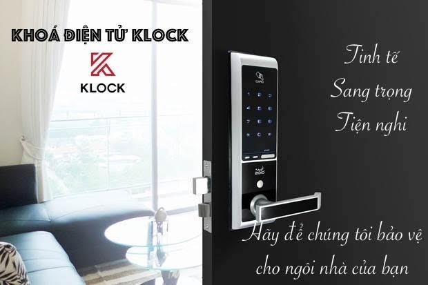 Khóa cửa điện tử Klock