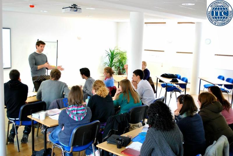 Một lớp học tiếng anh tại ITC