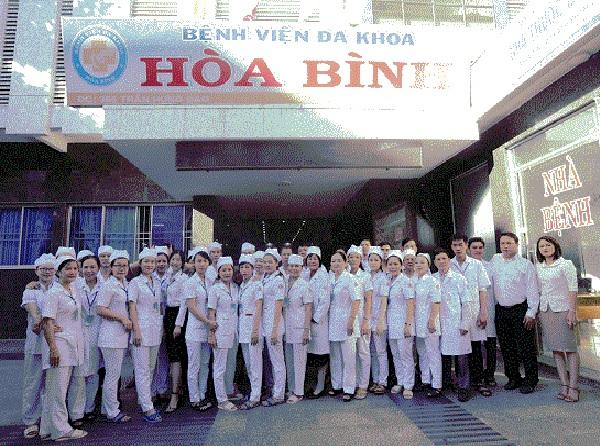 Khoa mắt - Bệnh viện đa khoa Hòa Bình