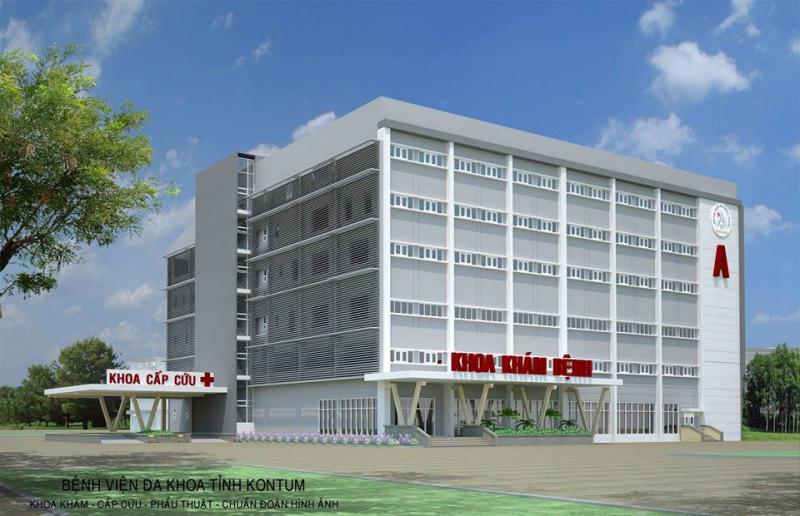 Khoa mắt bệnh viện đa khoa Kon Tum
